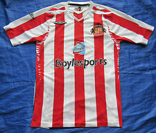 SUNDERLAND AFC home  shirt by UMBRO 2007-2008 The Black Cats /men/red-white/ S