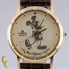 "Women's Lorus Quartz Mickey Mouse Watch ""The Walt Disney Co""  30mm"