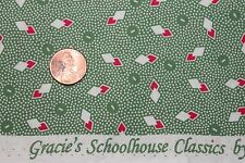 "AUNT GRACE ""SCHOOLHOUSE CLASSICS"" QUILT FABRIC 1930's BTY FOR MARCUS 0545-0314"