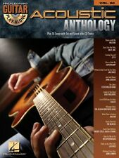 Acoustic Anthology Sheet Music Guitar Play-Along Book and CD NEW 000700175