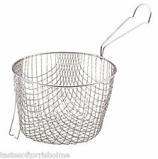 "Kitchen Craft Extra Deep Potato Chip Frying Basket for 20cm (8"") Pan"