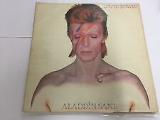 David Bowie Aladdin Sane Vinyl LP ORANGE LABEL RCA UK RS 1001, LSP-4852 VG/VG