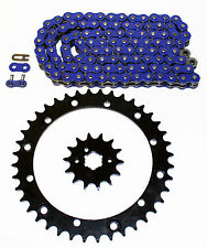 1989 - 2006 Yamaha YFZ350 350 Banshee Blue Chain & Sprocket + POWER 13/41