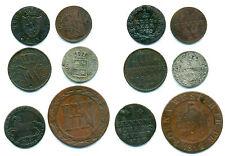 Altdeutschland, Lot v. 6 Münzen u. a. Westfalen Nassau