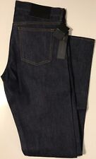 NWT MARC BY MARC JACOBS Men's MJ 113 LOW RISE SKINNY RAW RESIN JEANS Size 31/34