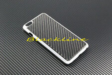 "For Apple iPhone 6 (5.5"") Plus Carbon Fiber Chromed Body Hard Case Cover Skin"