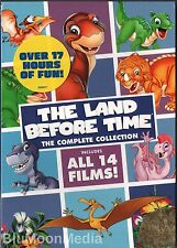 The Land Before Time 1-14 DVD Complete Collection 8 Disc Box Set Brand NEW