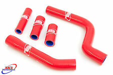 YAMAHA YZF 250 2010 2011 2012 2013 HIGH PERFORMANCE SILICONE RADIATOR HOSES RED