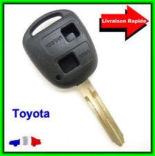 Coque Télécommande Plip Bouton Clé TOYOTA Avensis Picnic Landcruiser + Lame
