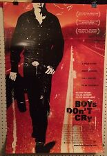 Original Movie Poster For Boys Don't Cry Double Sided 27x40