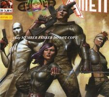 X-Force# 2 Granov Panini Euro Variant 1:50 French Edition Now Psylocke Cable Now
