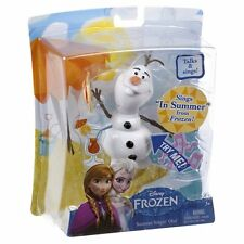 Disney Frozen Summer Singin Olaf Doll TALK & SINGS In Summer Toy Figure Cake Top