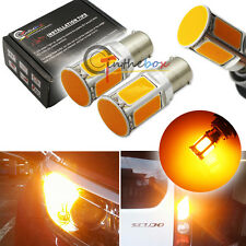 2 CAN-bus 21W Amber 7507 COB LED Bulbs Fit BMW 1 3 4 Series X5 Turn Signal Light