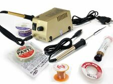 New Original Commercial Soldering Iron Kit ,Flux,Wire,Paste ETC