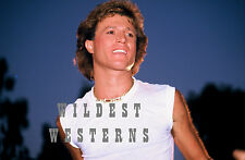 ANDY GIBB rare candid PHOTO Cut off T-shirt SEXY