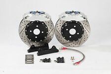 Ford Fiesta Mk5 Mk6 ST Front 286mm 4-Pot PB Brakes Big Brake Kit BBK