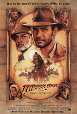 INDIANA JONES and the LAST CRUSADE - 24x36 inch MOVIE POSTER 00-2
