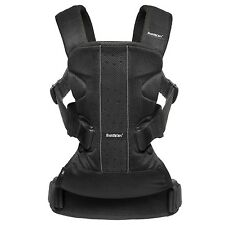 BabyBjorn One Air From Birth Baby To 3 Year Old Child Bonding Carrier - Black