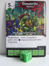 Dice Masters - #014 Donatello Donnie - Teenage Mutant Ninja Turtles