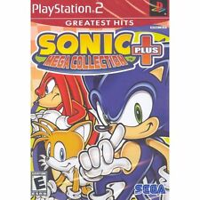 Sonic Mega Collection Plus (Greatest Hits) (Sony PlayStation 2, 2004)