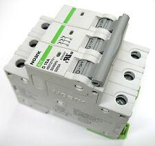 20 Amp Noark 3 Pole Din Rail MCB Circuit Breaker UL 230 240 480 Volt Class D
