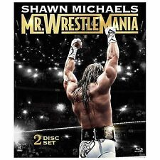 WWE: Shawn Michaels - Mr. Wrestlemania (Blu-ray Disc, 2014, 2-Disc Set)