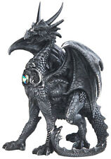 TERROR in BLACK  Dragon  Statue figurine  H5.88""