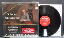 SCHUBERT Alfred Brendel Piano Sonatas A & A Minor Philips Stereo Digital Import
