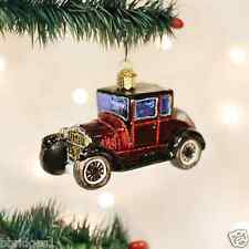 *Model T Coupe* Vintage Car Ford [46047] Old World Christmas Glass Ornament- NEW