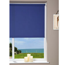 Window Roller Blind - Can Cut To Size -  Blue - 62 x 180cm