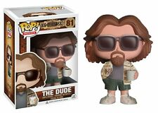FUNKO POP 2014 MOVIES THE BIG LEBOWSKI THE DUDE #81 Vinyl Figure MIMB In Stock