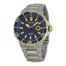 Citizen Endeavor Dark Blue Dial Mens Watch AW1424-54L