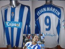 Recreativo Huelva ersen Martin Cejudo XXL Player Shirt Jersey Soccer Football LS