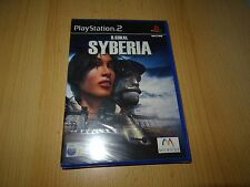 B.Sokal Syberia - PlayStation 2 PS2 - New & Sealed