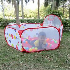 90cm Children Toddlers Ocean Ball Pool Pit Play Tent Outdoor Indoor House Kids