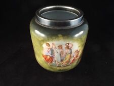 Antique Crown Victoria Porcelain Portrait Vase ca. 1883-1945