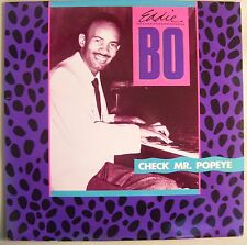 Eddie Bo Check Mr Popeye Acetate Test Pressing LP Rounder 2077 Blues R&B