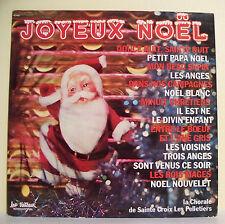 """33T JOYEUX NOËL Disque LP 12"""" CHORALE SAINTE CROIX LES PELLETIERS -TRETEAUX 6366"""