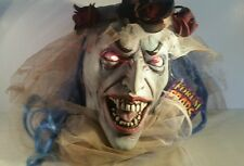 Halloween Prop Zombie Brides Head Monster light Up, Haunted House Prop, Mask #A