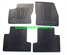2013-2014 Ford Escape All Weather Rubber Vinyl Black Floor Mats Set of 4 OEM NEW