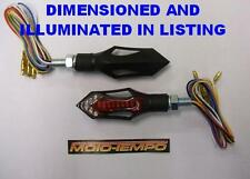 QUALITY LED 3 in 1 indicator / stop / tail light pair custom streetfighter