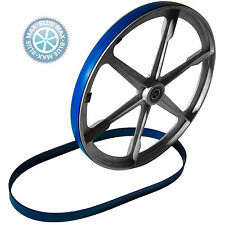 3 BLUE MAX BAND SAW TIRES AND 1 ROUND DRIVE BELT FOR HARBOR FREIGHT MODEL 725