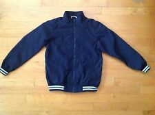 Children's Place Boys / Youth Navy Blue Varsity  Coat Size Medium or  7/8
