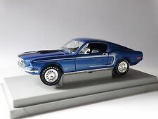 Ertl American Muscle 1968 Ford Mustang GT Cobra Jet 1:18 Scale Diecast Model Car
