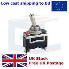 Heavy Duty Toggle Flick Switch 12V ON/OFF Car Dash Light Metal 12 Volt SPST