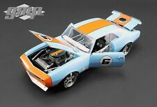 1968 CHEVROLET CAMARO #6 GULF OIL STREET FIGHTER LIMITED ED 1/18 BY GMP 18814