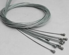 10 PCS GALVANIZED JAGWIRE BRAKE INNER WIRE CABLE ROAD BIKE PEAR END SHIMANO SRAM