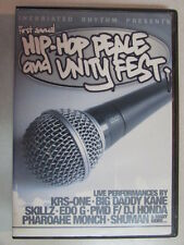 FIRST ANNUAL HIP HOP PEACE AND UNITY FEST 2004 DVD KRS-ONE BIG DADDY KANE SKILLZ
