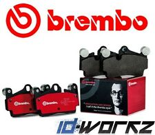 HONDA CIVIC TYPE R EP3 S2000 2.0 2.2 BREMBO FRONT BRAKE PAD PADS SET 1999-2009