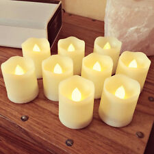 9 LED Tealight w/ Remote Timer Battery Powered Votive Tea Light Flameless Candle